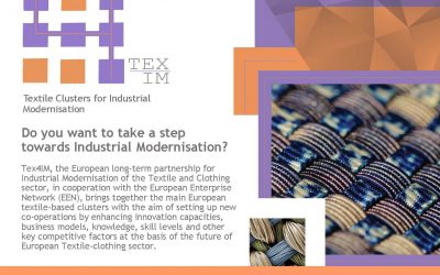 TEX4IM First International Textile-Clothing Matchmaking Event Stockholm, November 13, 2019