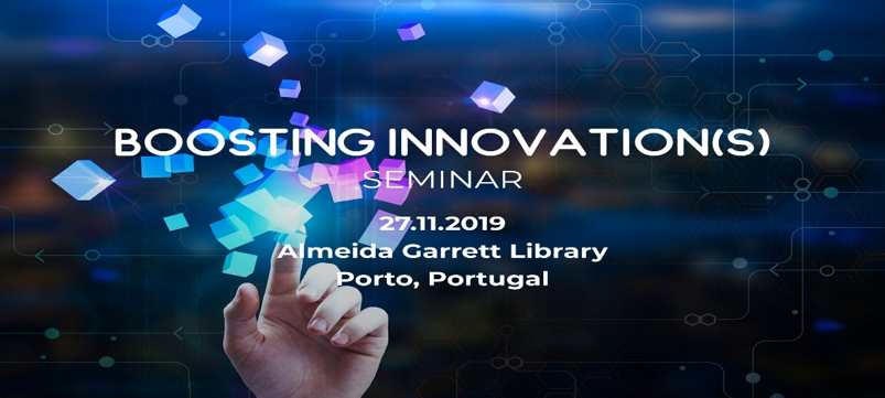 the Boosting Innovation Seminar, organized by Textile Cluster – Technology and Fashion and the CeNTI – Center for Nanotechnology and Smart Materials