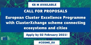 LAUNCH OF COS-CLUSTER-2020-3-03: European Cluster Excellence Programme with ClusterXchange scheme connecting ecosystems and cities