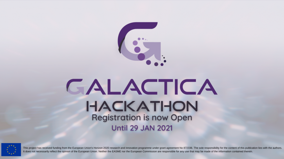 First GALACTICA Hackathon with 50.000€ in prizes