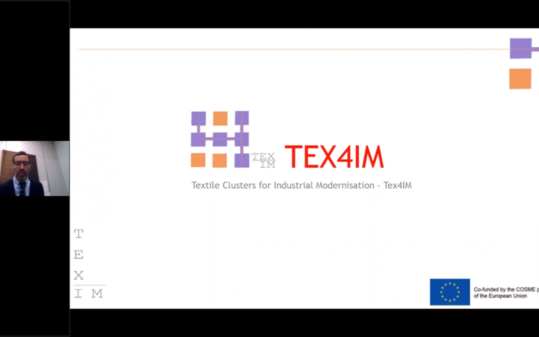 TEX4IM project was presented at the CLAMTEX Virtual Marketplace